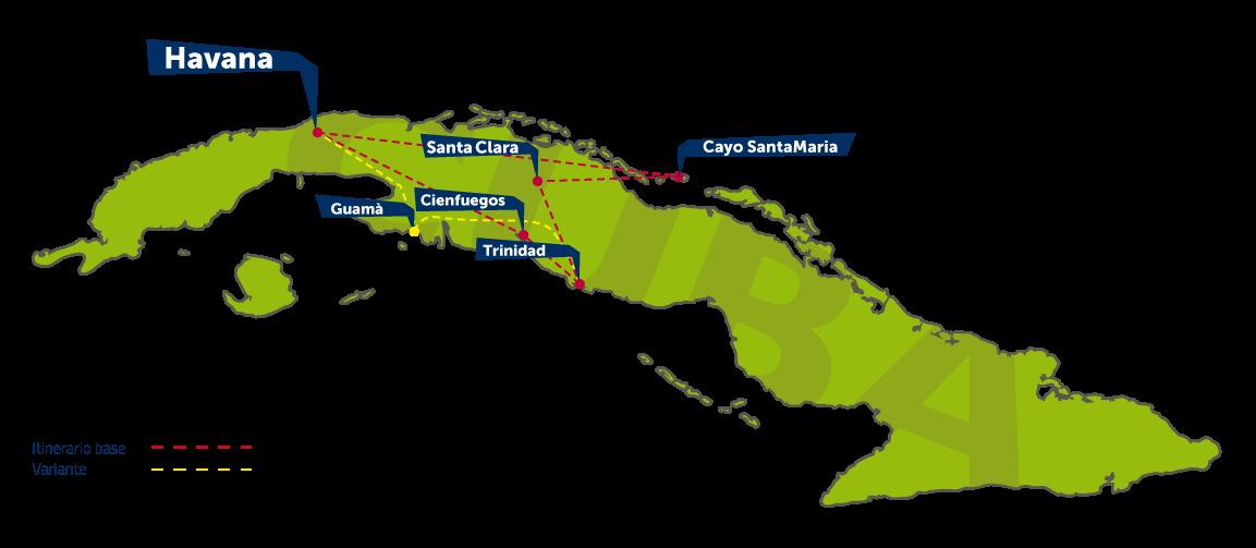 Solo Cuba | Scheda Itinerario